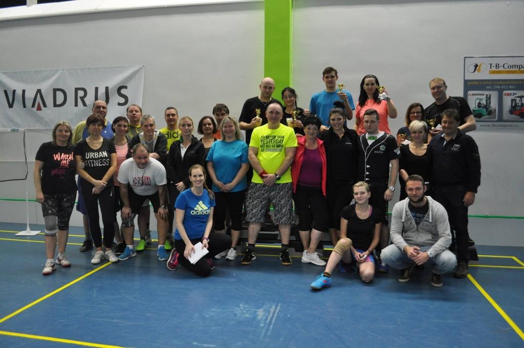 Badminton turnaj 1